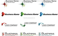Set of logo projects for your business or corporate identity
