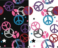 peace seamless pattern