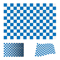 blue and white checkered flag icon ideal racing concept