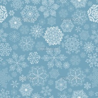 Seamless pattern with stylized snowflakes.