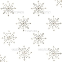 Seamless blue pattern with snowflakes. Vector illustration.