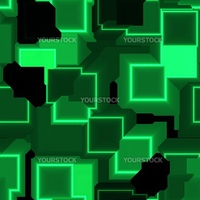 Square glowing abstract background light pattern illustration