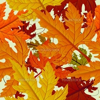 Autumn background, seamless tile with maple leaves. Abstract background, easy to edit, copy paste.