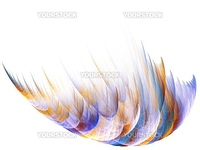 forms and curves on white background