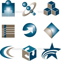 9 logos to choose from