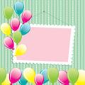 タイトル:Congratulation Background. vector illustration