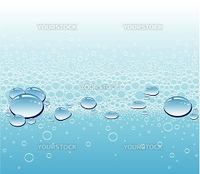 Abstract background with rain drops and place for your text