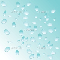 blue water drops pattern, vector art illustration