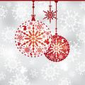 タイトル:abstract Christmas background vector illustration