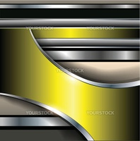Abstract background elegant gold metallic, vector illustration.