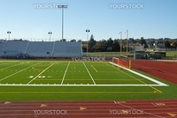 Football and soccer field, Hayward, California