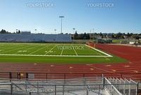 Football and soccer field, Hayward, California