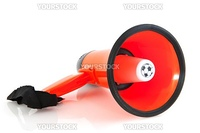 Dutch soccer megaphone for a supporter to yel