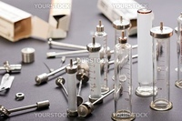 Medicine vaccination injecting reusable syringe