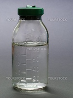 Medicine vial for healthcare science research test