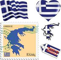 national colours of Greece