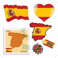 national colours of Spain