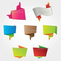 Origami labels