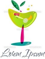 Colorful Cocktail Emblem