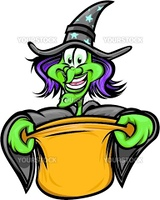 Halloween Witch Trick or Treating