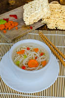 Chinese noodles soup healthy?