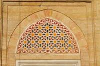 Window Decoration of Selimiye Mosque, Edirne, Turkey