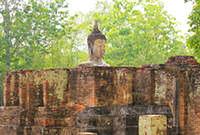 Wat Si Chum in Sukhothai Historical park, Thailand