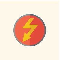 Electric Flat Icon