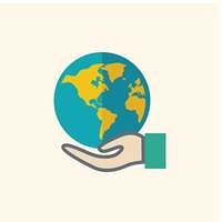 Global Flat Icon
