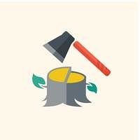 Forestry Flat Icon