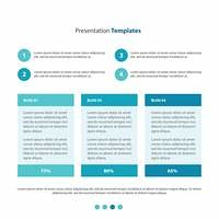 graph and diagram Presentation Templates