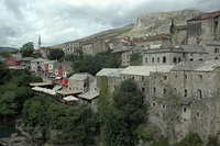 Ostseite von Mostar