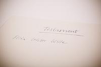 Testament - mein letzter Wille