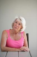 Portrait of a senior woman attentive