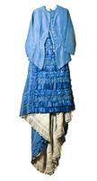 Vintage female dress