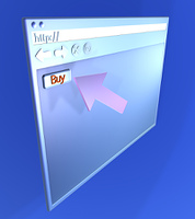 Browser Closeup - Buy online