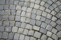 cobbled abstract back