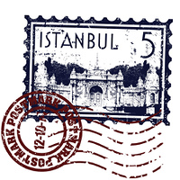 Vector illustration of isolated Istanbul icon