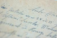 Alte handgeschriebene Briefe