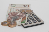Calculator and polish currency