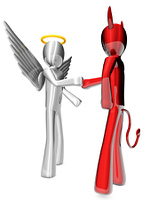 Angel and Devil agreement.....
