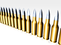 Bullets in line