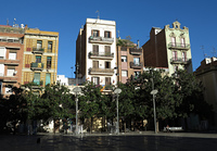 Barcelona - Gracia - Plaza del Sol