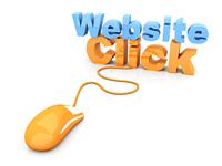 Website click.
