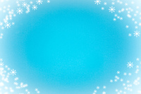 Blue Snowy Christmas Backdrop