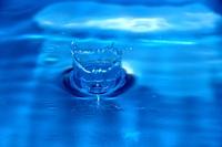 Blaue Wasserfont?ne