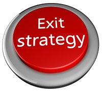 Exit strategy button