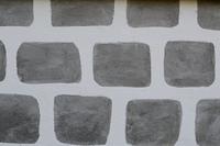 Muster einer Steinmauer