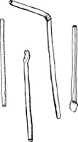 Various Outlined Straws