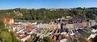 Burghausen-Panorama vom Burgberg